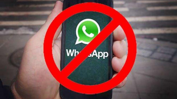 WhatsApp resmen yasaklandı! Geçici olduğu öne sürüldü...