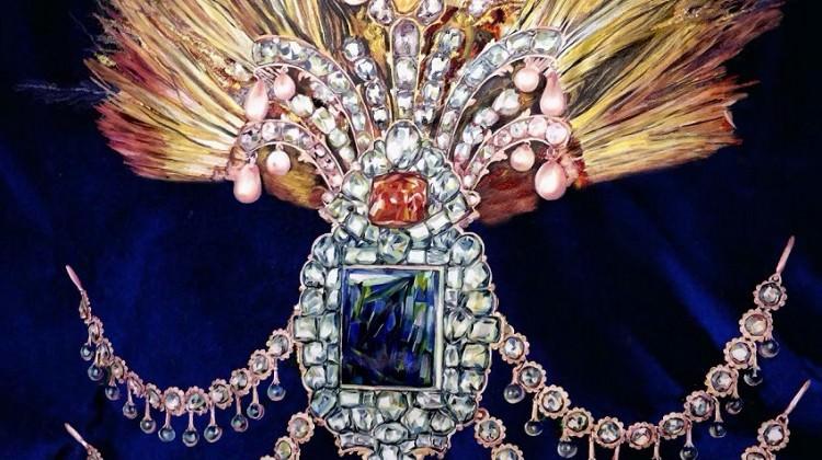 Osmanlı Kayıp Hazineleri resim sergisi OSM'de