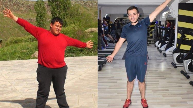 9 ayda 60 kilo verdi