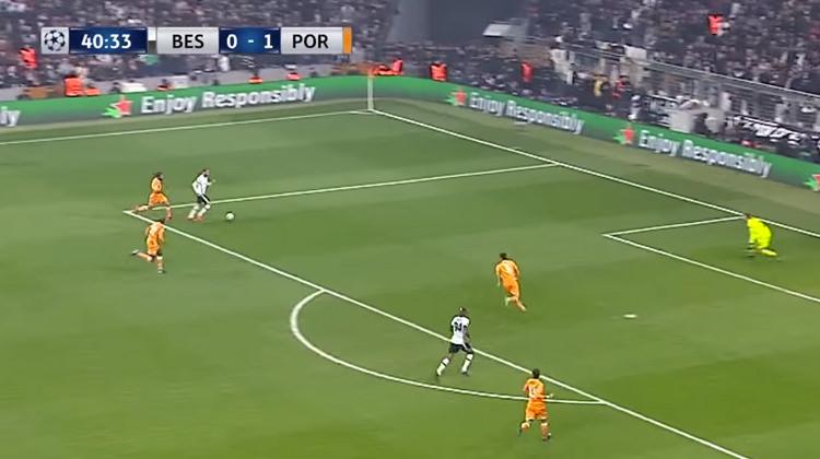 Beşiktaş Porto maçı özetini TRT 1'den izle! Talisca'nın golü...