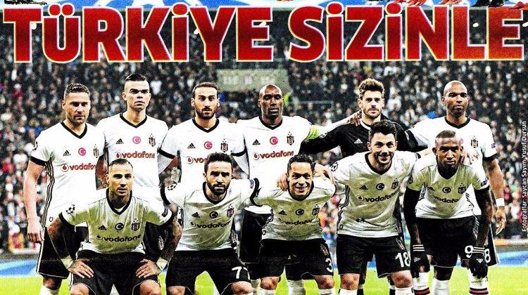 İşte Beşiktaş için atılan o manşetler!