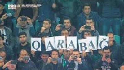 Azerbaycan'da dikkat çeken Ay Yıldızlı koreografi!