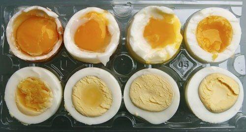 fazla pişmiş yumurtadaki tehlide