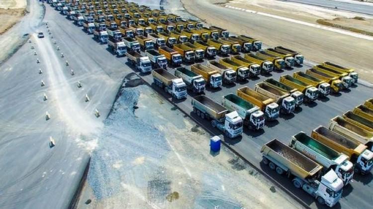 Yeni havalimanı için 500 kamyon aranıyor