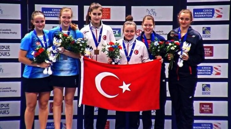 Badmintonda Avrupa şampiyonuyuz!
