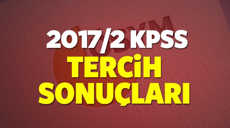 KPSS tercih sonuçları açıklandı! ÖSYM'den öğren (2017/2)