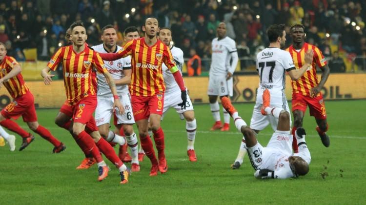 10 kişilik Kayseri Beşiktaş'a geçit vermedi