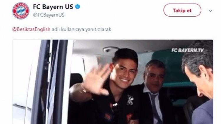 Bayern'den Beşiktaş'a 2. tur mesajı