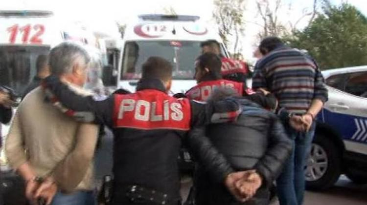 Beşiktaş'ta güpegündüz dehşet anları!