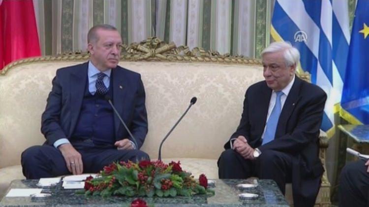 Erdoğan'dan Yunan mevkidaşına Lozan dersi!