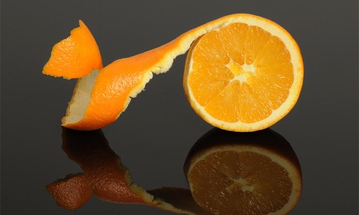 portakal kabuğu kullanım alanları