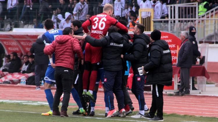 Erzurum deplasmanda tek golle kazandı!