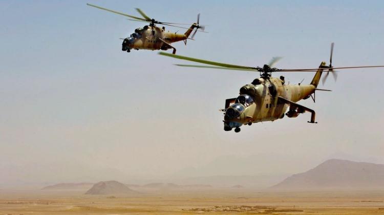 Rus helikopteri Suriye'de düştü!