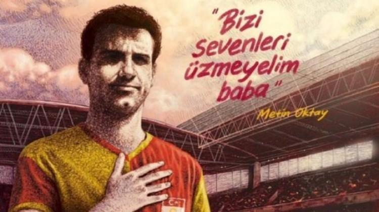 Arda Turan'a Metin Oktay'lı gönderme!