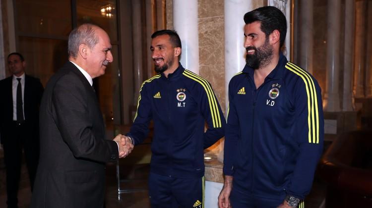 Numan Kurtulmuş'dan Fenerbahçe'ye ziyaret