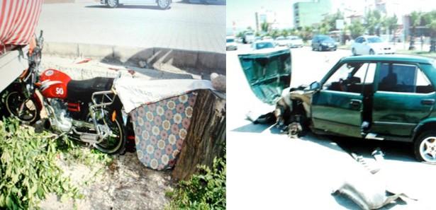 Antalya'da 2 kaza: 2 ölü