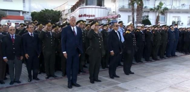 Atatürk KKTC'de törenlerle anıldı