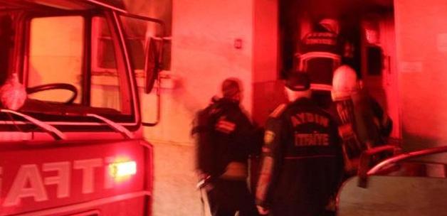 Kars'ta ev yangını: 1 ölü