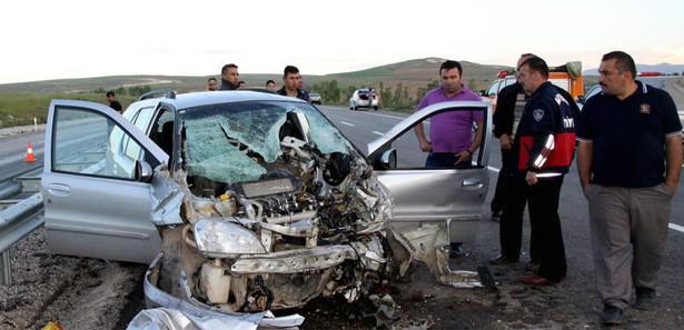 Düzce'de trafik kazası: 1 ölü