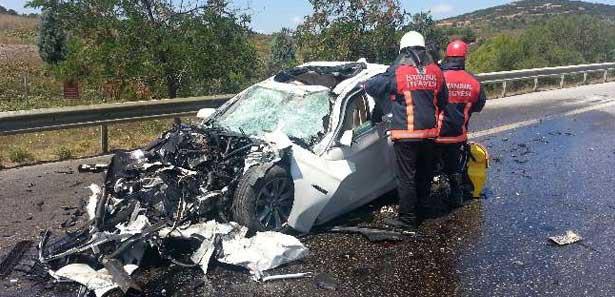 Bayramın ilk günü feci kaza: 1 ölü