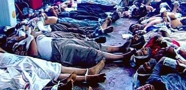 İşte Mısır'daki katliamın dehşet görüntüleri