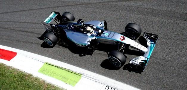 İtalya'da ilk cep Hamilton'ın