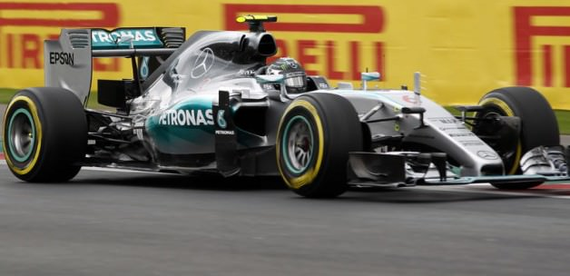 Meksika'da ilk cep Rosberg'in