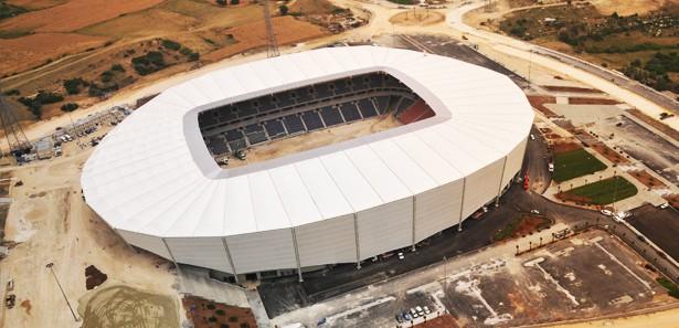 Mersin Arena Stadı oyunlara hazır