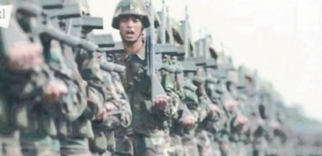 Rum kanalında Türk askeri gösterildi