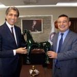 Fatih Belediye Başkanı Demir'den ÇOMÜ'ye ziyaret