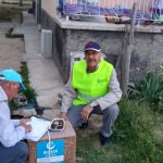 Seydişehir'de, Suriyeli ailelere yardım