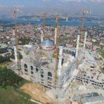 Çamlıca Camii'nin bir özelliği daha ortaya çıktı