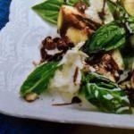İncirli mozarella salatası