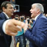 Maç bitti, Ataman ve Obradovic tartıştı