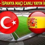 Türkiye İspanya maçı TRT 1 - TRT 4K HD canlı İZLE