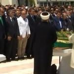 Erdoğan, Karaalioğlu'nun cenazesine katıldı