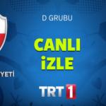 Türkiye Çek Cumhuriyeti maçını TRT 1 4K canlı yayın izle (21.06.16)