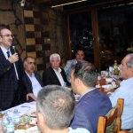 Rektör adayı Küfrevioğlu'ndan iftar