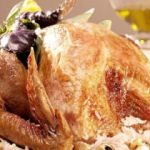 İç pilavlı tavuk dolma tarifi