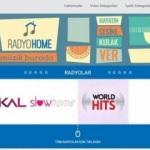 Her türden müziğin yepyeni adresi Radyo Home yayında!