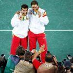 Nadal, çiftlerde altın madalyayı kaptı
