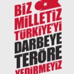 Ünlü isimlerden mesaj: Türkiye'yi Yedirmeyiz!