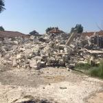Sakarya'da kaçak bina yıkımı sırasında arbede