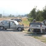 Manisa'da trafik kazaları: 1 ölü, 7 yaralı