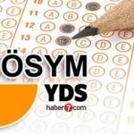 YDS sonbahar dönemi sınav sonuç ekranı