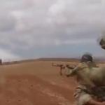 Türk askerinin Suriye'de yeni çatışma görüntüleri