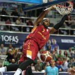 Galatasaray son saniye basketiyle galip