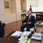 Kılıçdaroğlu YÖK Başkanı Saraç ile görüştü