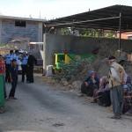 Adana'da haciz işlemine giden polise darp iddiası