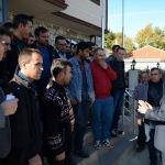 Mihalıççık Belediye Başkanı Uysal, işçilerle bir araya geldi
